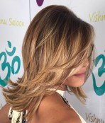 Medium Layered Haircuts 22
