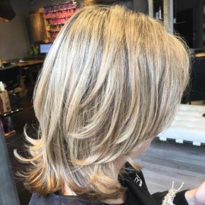 Medium Layered Haircuts 8
