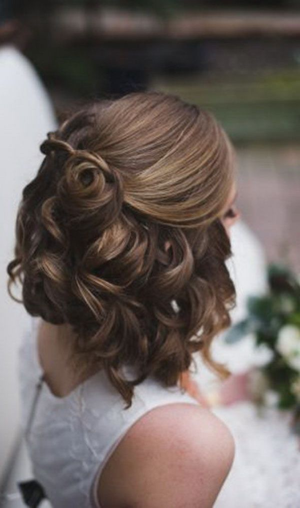 Wedding Hairstyles For Short Hair 12