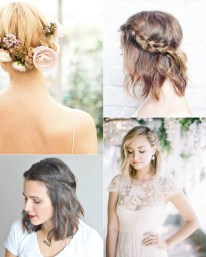 Wedding Hairstyles For Short Hair 34