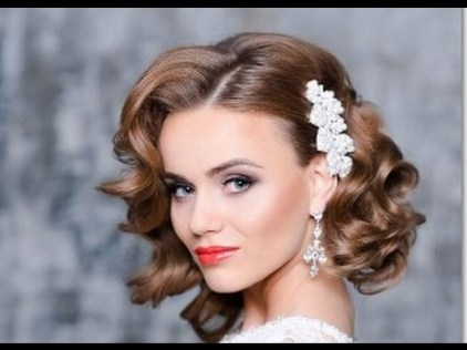 Wedding Hairstyles For Short Hair 5