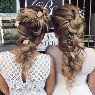 Wedding Updo Hairstyles For Long Hair 28