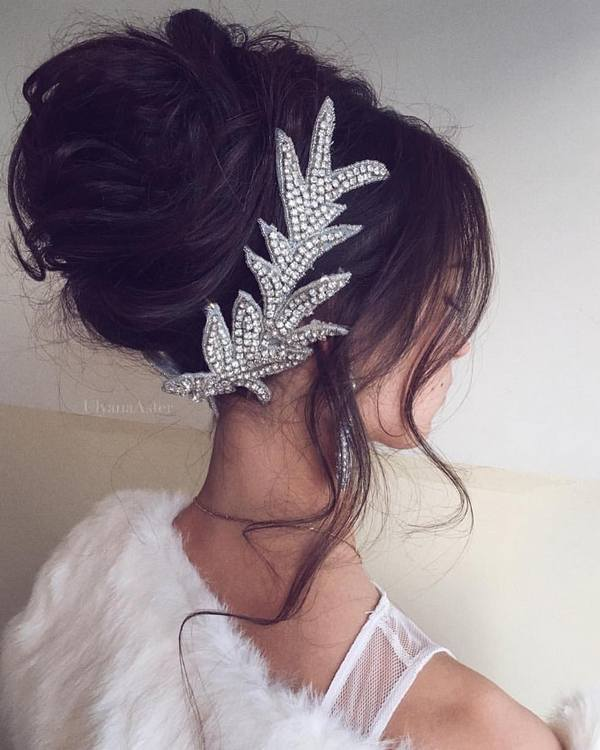 Wedding Updo Hairstyles For Long Hair 32