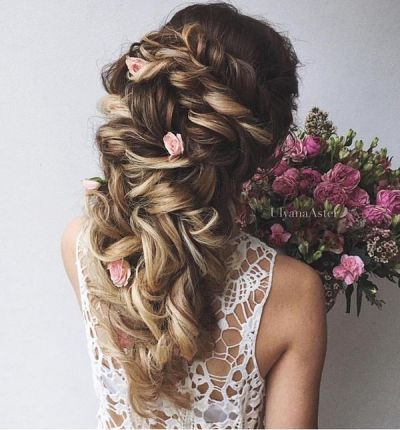 Wedding Updo Hairstyles For Long Hair 33