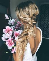 Wedding Updo Hairstyles For Long Hair 37