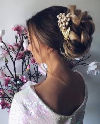 Wedding Updo Hairstyles For Long Hair 5