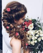 Wedding Updo Hairstyles For Long Hair 8