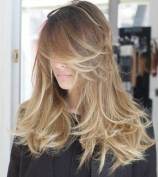 10 Layered Messy Hairstyle For Long Hair