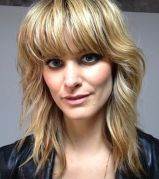 10 Mediumlength Shag Haircut With Bangs