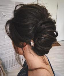 10 Simple Messy Formal Updo
