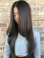 11 Asian Long Straight Hairstyle