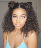 15 Two Mini Buns For Natural Hair
