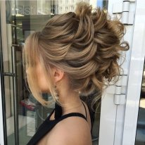 5 Messy Loose Formal Updo