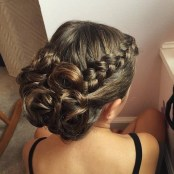 7 Side Braid Prom Hairstyle For Long Hair