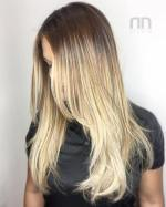 8 Blonde Balayage Hair With Roots Fade