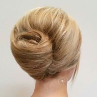 9 Messy French Twist Updo
