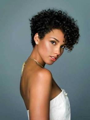 Black Short Curly Hairstyles 2018 40