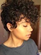 Curly Pixie Hair 16