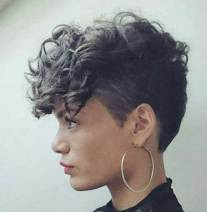 Curly Pixie Hair 4