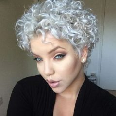 Curly Pixie Hair 52