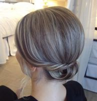 12 Low Formal Updo For Short Hair