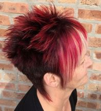 18 Womens Spiky Undercut Hairstyle