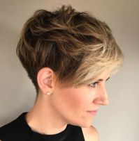 23 Messy Tapered Pixie