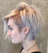 7 Long Blonde Pixie For Thin Hair