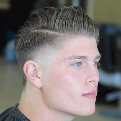 Burst Fade Comb Over