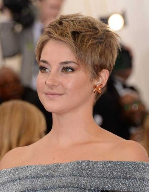 Cool Short Fine Pixie Cut