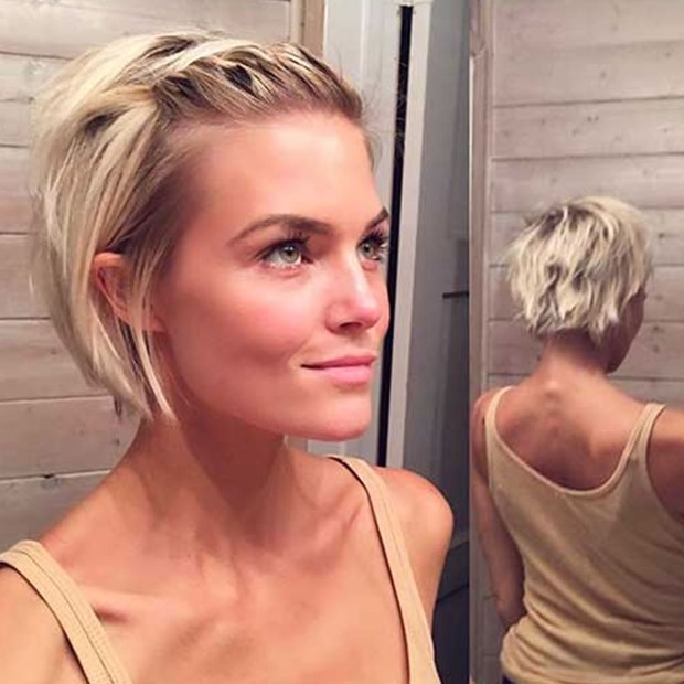 Short Hairstyles And Hair Colors For Women 2018 2019