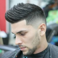 Hairstyles For Guys With Thick Hair Faux Hawk