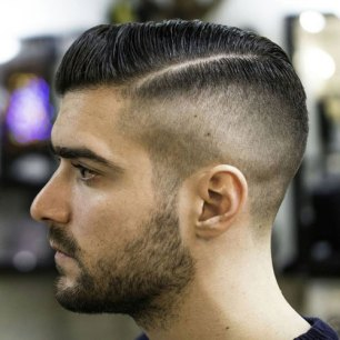 Hairstyles For Square Faces Side Part