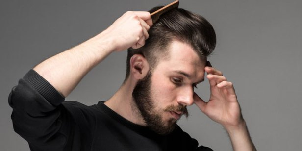 How To Train Your Hair To Slick Back