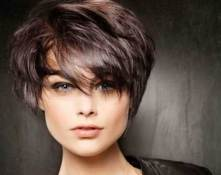 Images For Short Dark Straight Hair