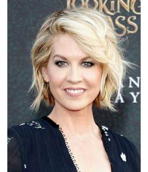Jenna Elfman Hairstyle Short Haircut