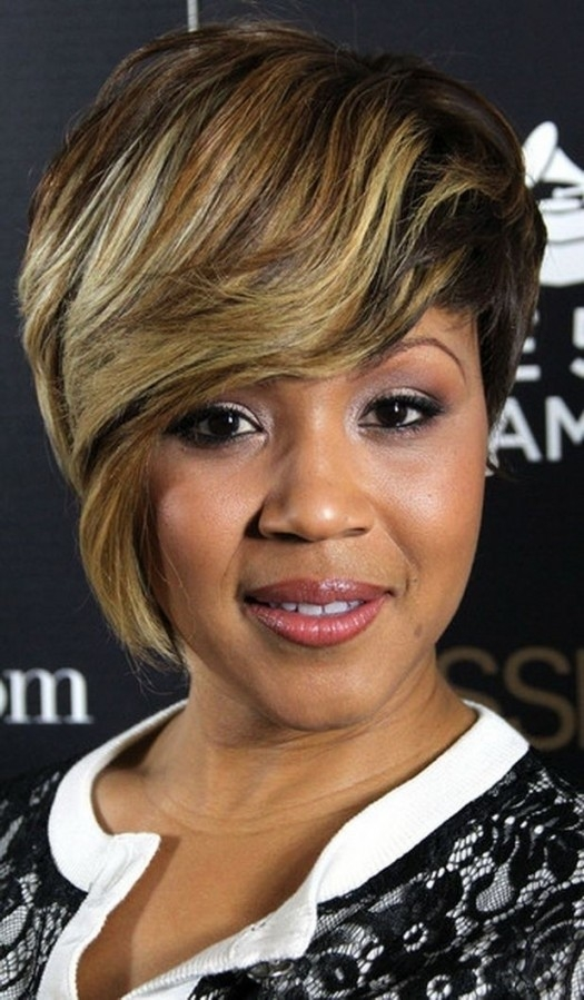 Hair Black Women Short Hairstyles For Long Bangs Black Women Hair Cut Regarding Short Black Hairstyles With Highlights