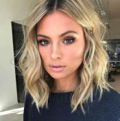 Wavy Lob Hairstyle