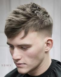 Xbigwesx Cool Short Haircuts For Men Texture Fade