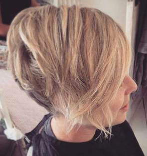 24. Short Trendy Hairstyle