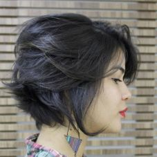 3 Tousled Bob Hairstyle