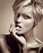 Anja Rubik Short Hair Pictures