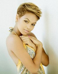 Blonde Pixie Cuts For Black Women