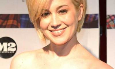 Short Blonde Pixie For Thin Hair