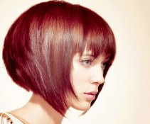Short Haircuts With Bangs Side View