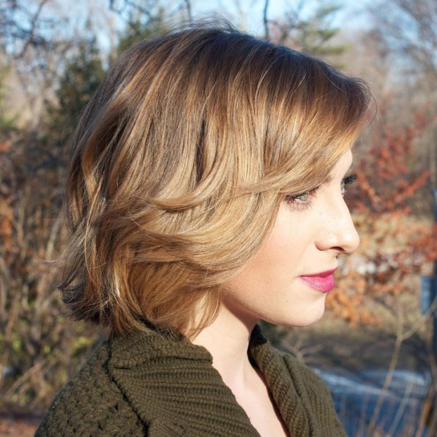Easy And Pretty Bob Haircuts That Make Your Fine Hair Fuller 18