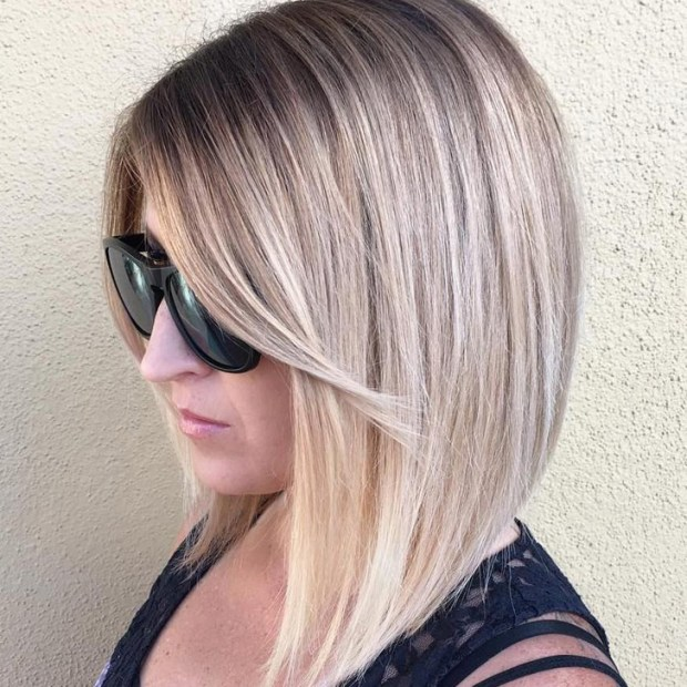 Easy And Pretty Bob Haircuts That Make Your Fine Hair Fuller 21