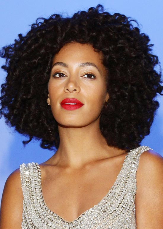 Voluminous Ringlets Curly Hairstyle