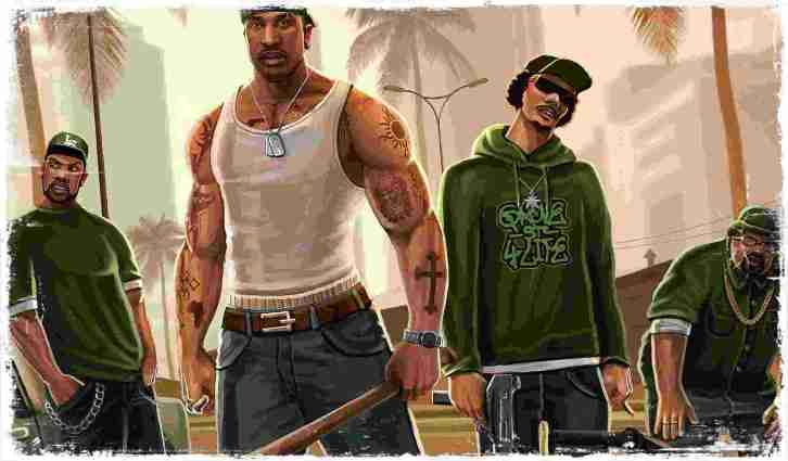 Grand Theft Auto San Andreas Highly Compressed Free Download For Pc