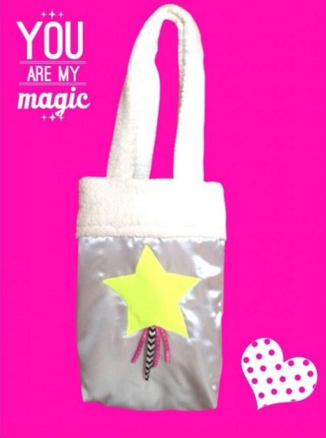 Tasche mit Stern